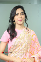 Actress Ritu Varma Pos in Beautiful Pink Anarkali Dress at at Keshava Movie Interview .COM 0102.JPG
