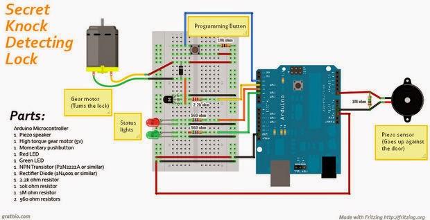 Arduino Ses Ile Kontrol Alkışla Yansın