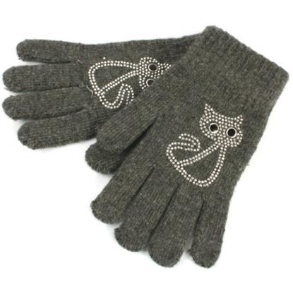 Sparkly cat gloves