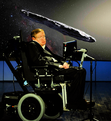 Stephen Hawking Confirms Space Object May Be Alien Spacecraft
