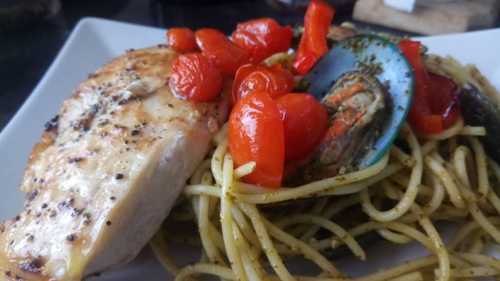 Resepi Mudah Spagetti Dengan Sos Pesto