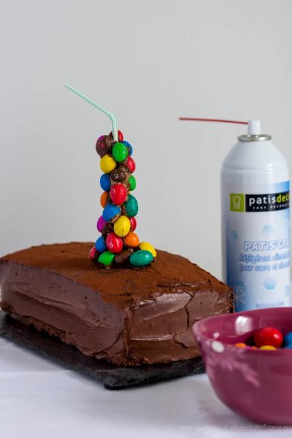Gravity Cake Chocolat Coulant