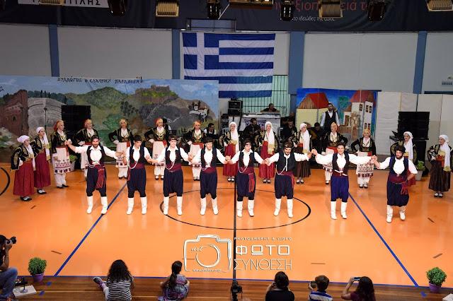 Με μεγάλη επιτυχία η ετήσια μουσικοχορευτική παράσταση από την Ελληνική Παράδοση στο Άργος