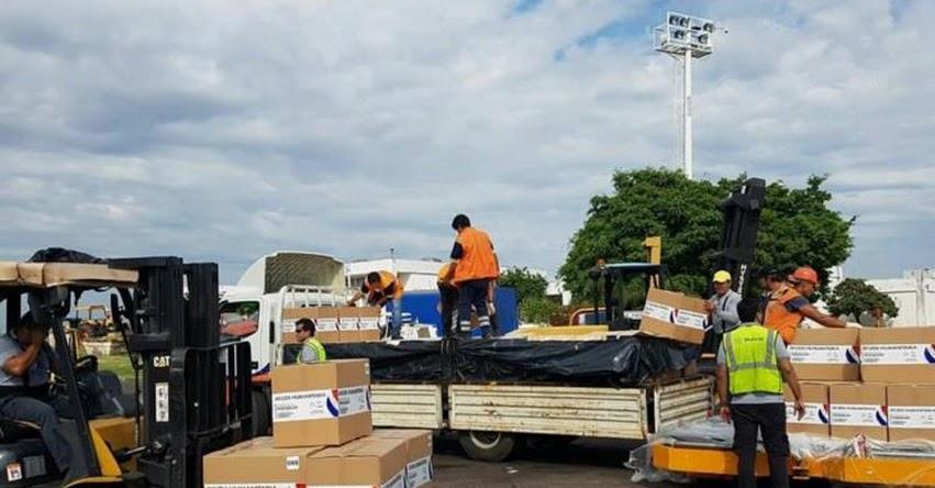 Paraguay envía más de 11 toneladas de ayuda al Perú para damnificados