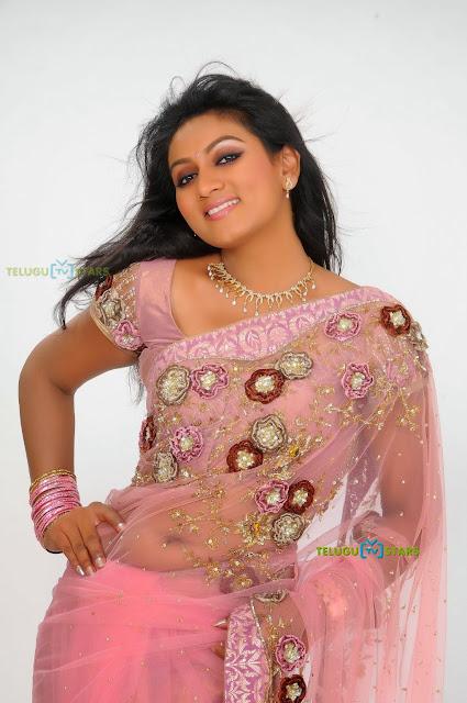 ashmita Beautiful in saree stills