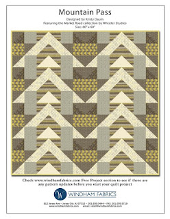 MOUNTAIN PASS Quilt Pattern // Kristy Daum for Windham Fabrics
