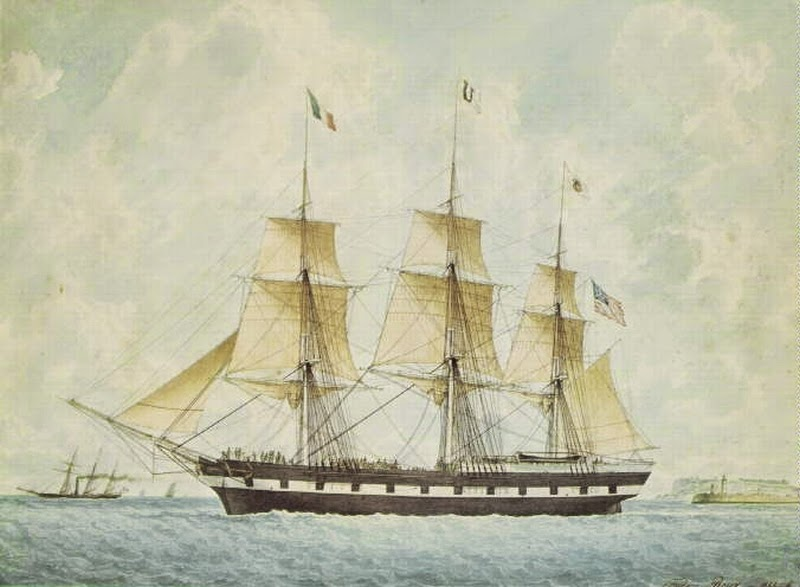 Clipper Ship Havre