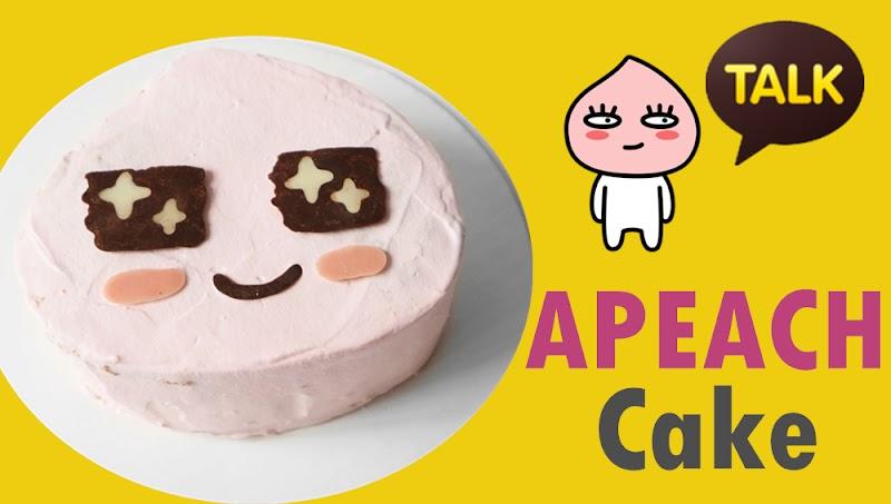 APEACH Cake어피치 케이크