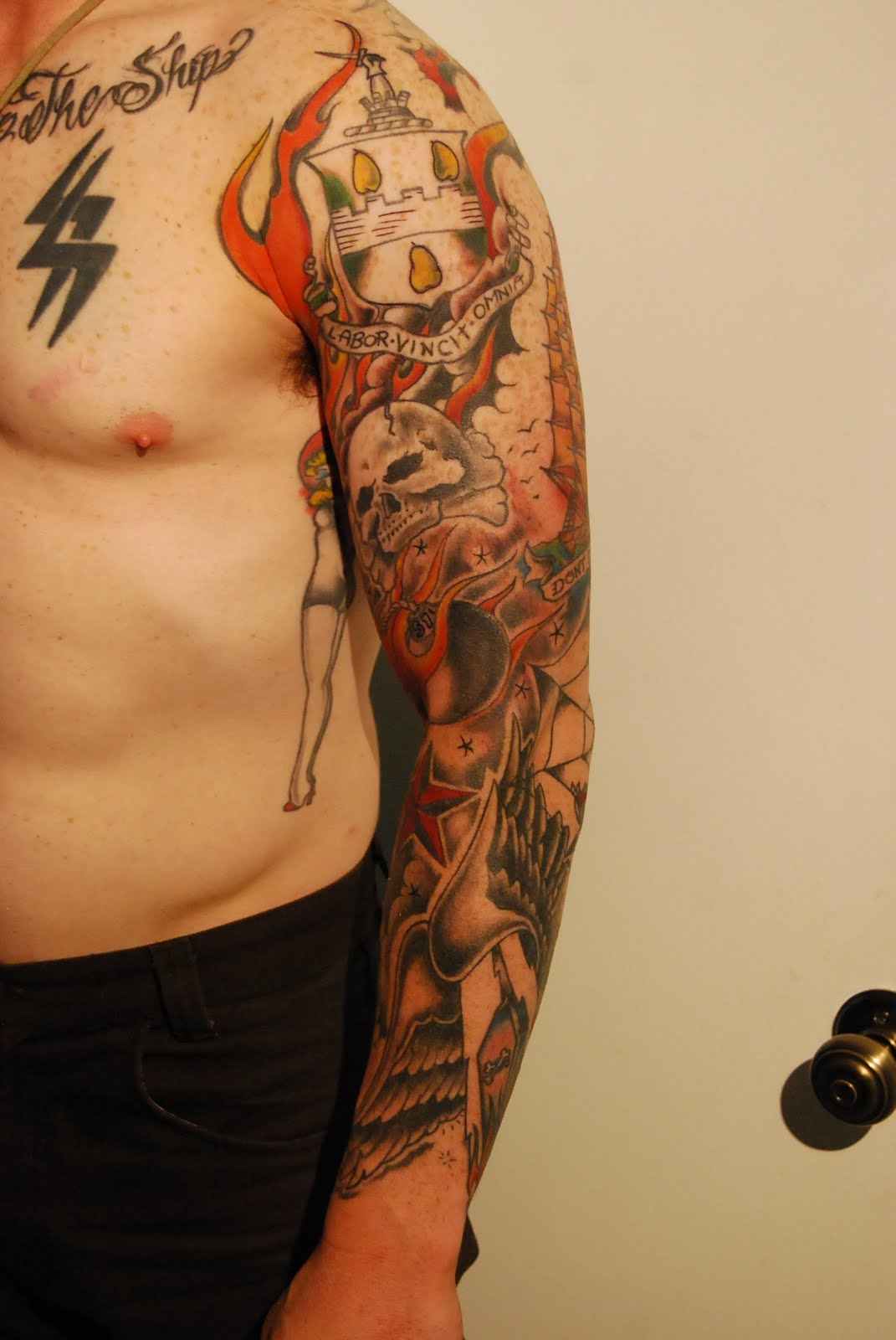 Little C's Tattoo Parlor: Halloween week new tattoos!