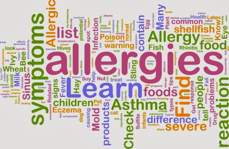 you come into contact with an allergen, you may experience symptoms ...