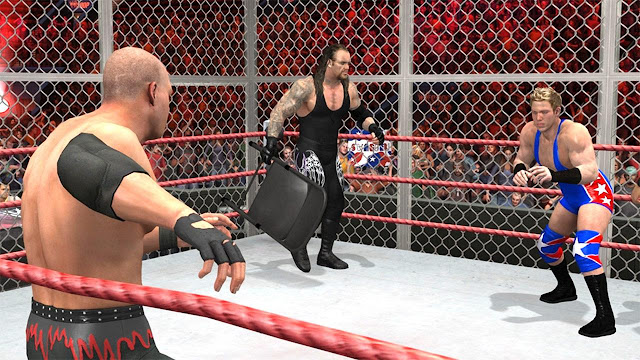 WWE Smackdown vs Raw 2007 PC Game Free Download Gameplay