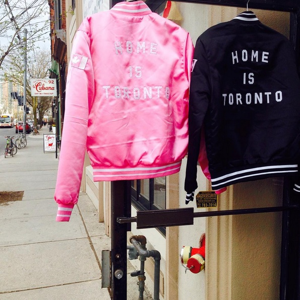 Peace Collective Bomber Jackets at Fitzroy Boutique, Toronto
