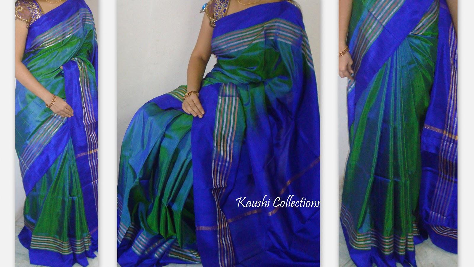 Kollam Pattu Sarees Online