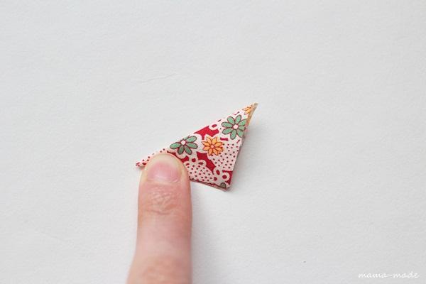 How to Make Triangular Ornaments Purse. Card Holder Decor