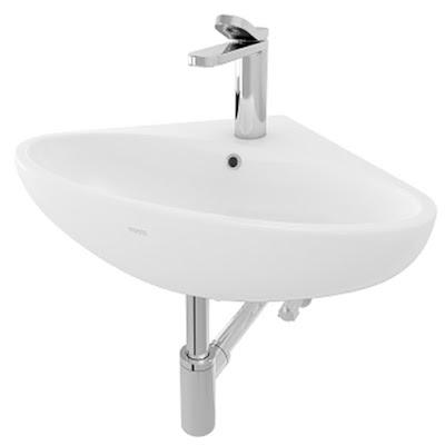 Chậu rửa lavabo treo tường giá rẻ TOTO