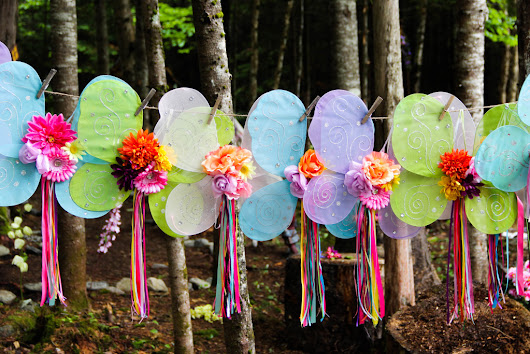 Party Game Ideas -- Fairy Costume Relay