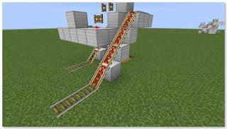Minecraft トロッコ輸送 積み込み駅 作り方⑥