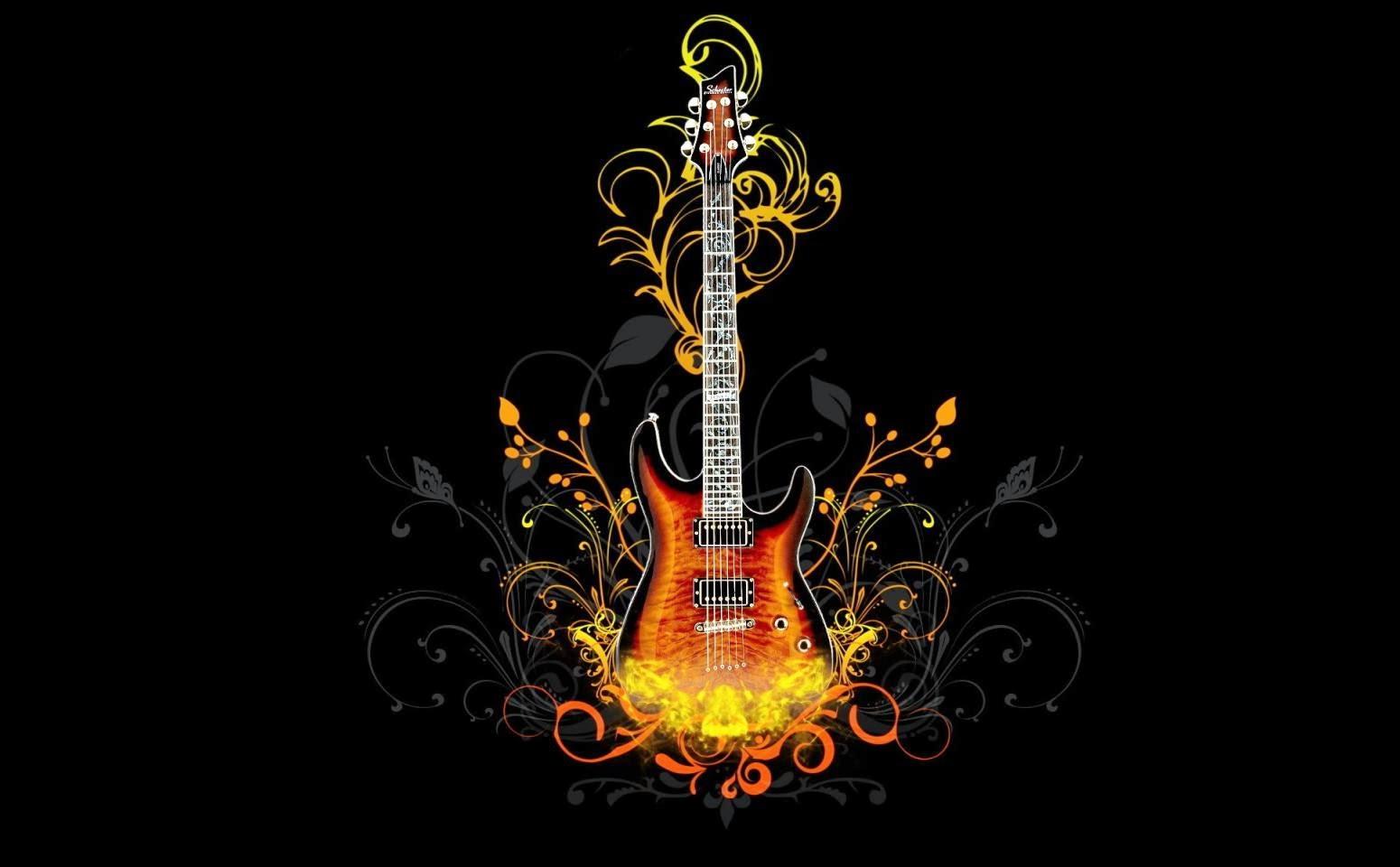 65 Gambar Gitar Keren Animasi Terbaik