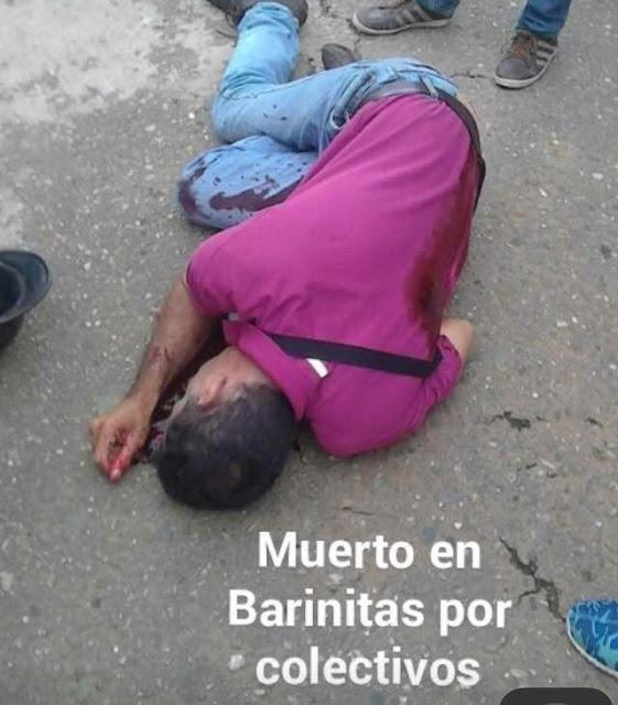 Colectivos asesinan a dos manifestantes en Barinas - Barinitas