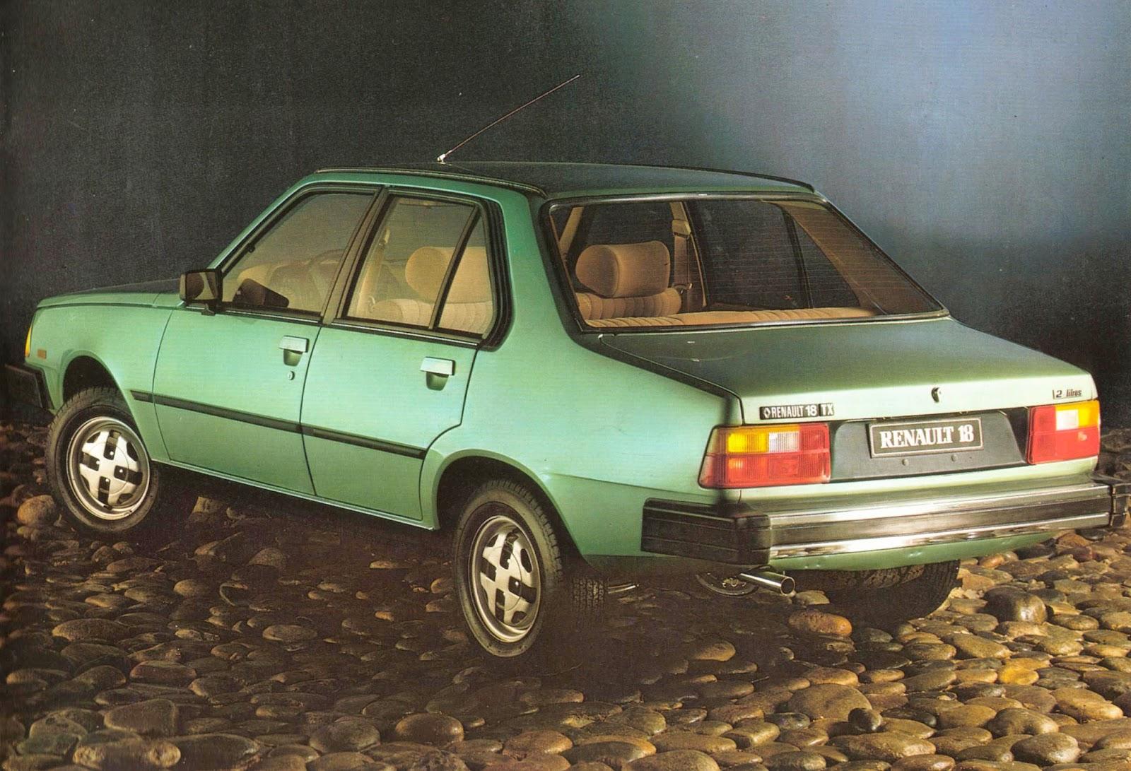 Archivo de autos: El Renault 18 TX de 1981