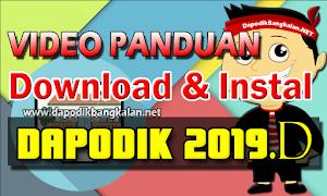 Download dan Instal PATCH Dapodik 2019.d [Video Tutorial]