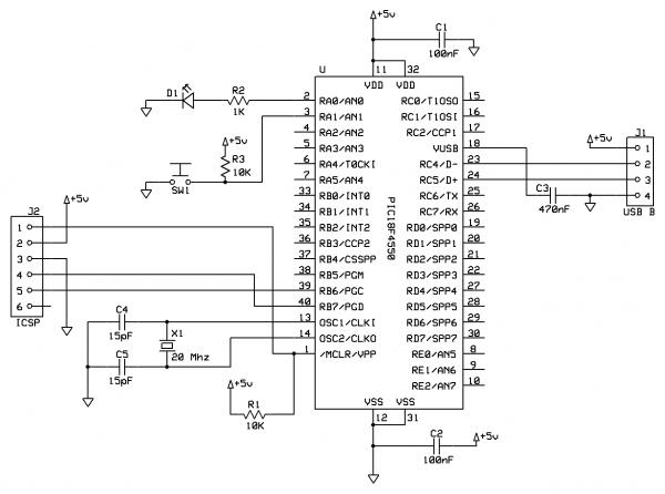 sample icsp circuit