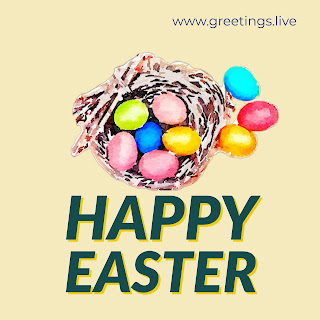 Easter eggs Nest greetings live HD 2018