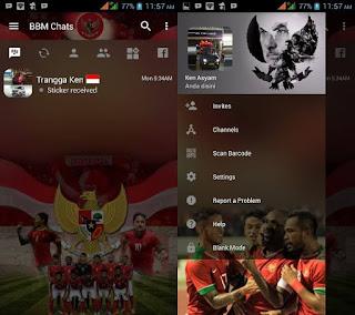BBM Mod Timnas APK Updated