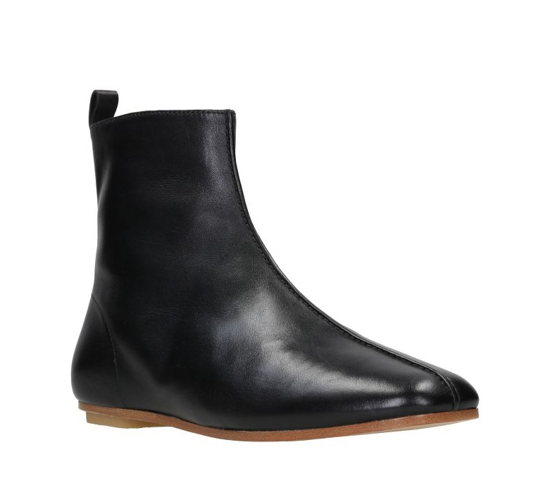 clarks margot boot black leather