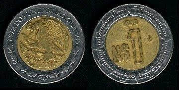 Mexico  New Peso (1992-1996) Coin