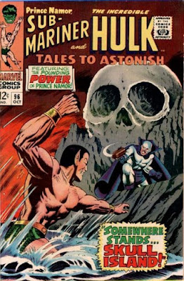 Tales to Astonish #9, the Sub-Mariner vs the Plunderer