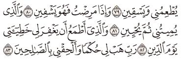 Tafsir Surat As-Syu'ara Ayat 81, 82, 83, 84, 85