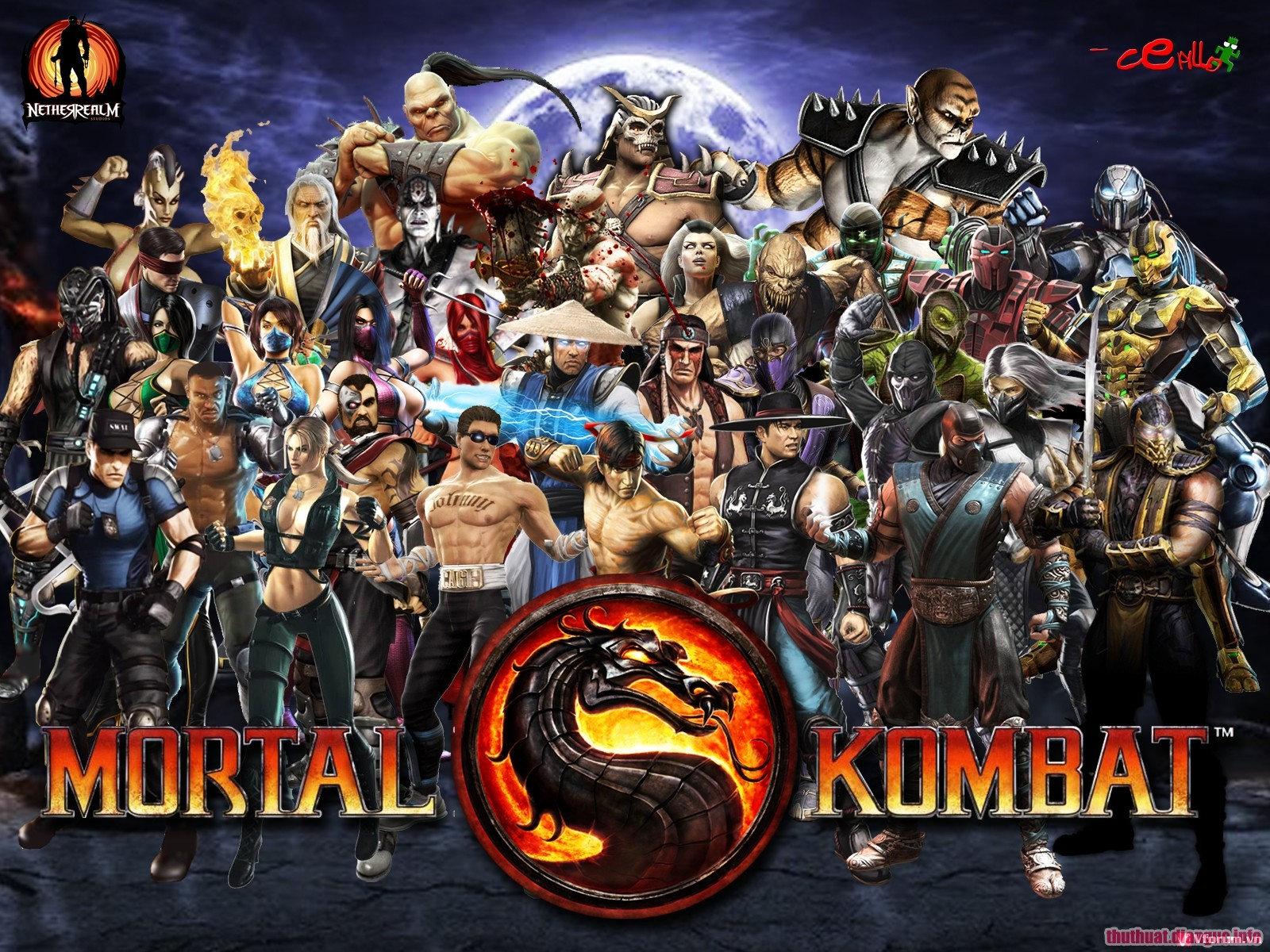 Download game Mortal Kombat 9 PC Full crack Fshare
