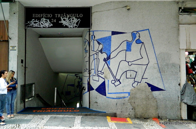 Edifício Triângulo, projetado por Oscar Niemeyer, Centrão de São Paulo