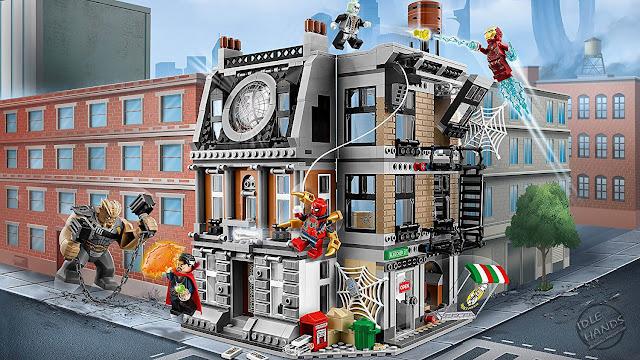 LEGO Marvel Super Heroes Infinity War Sanctum Sanctorum Showdown