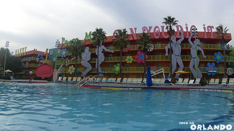Piscina Hippy Dippy do Pop Century.