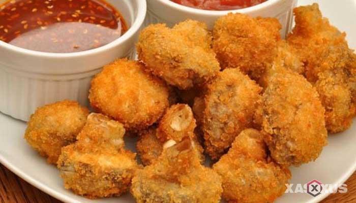 Resep jamur kancing krispy
