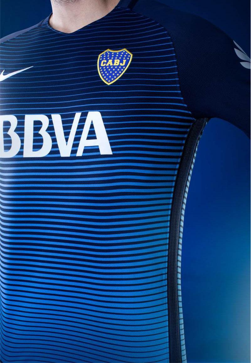 buy online 28916 59ebb Soccer talk: 2016-17 Boca Juniors Third Jersey