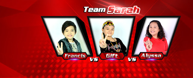 "Therese vs Gift vs Francis sing ""Pyramid"" The Voice Kids"