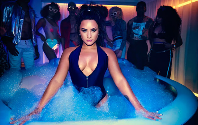"Demi Lovato Premieres ""Sorry Not Sorry"" Video"