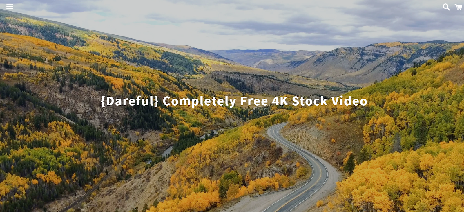dareful a website for stock video download