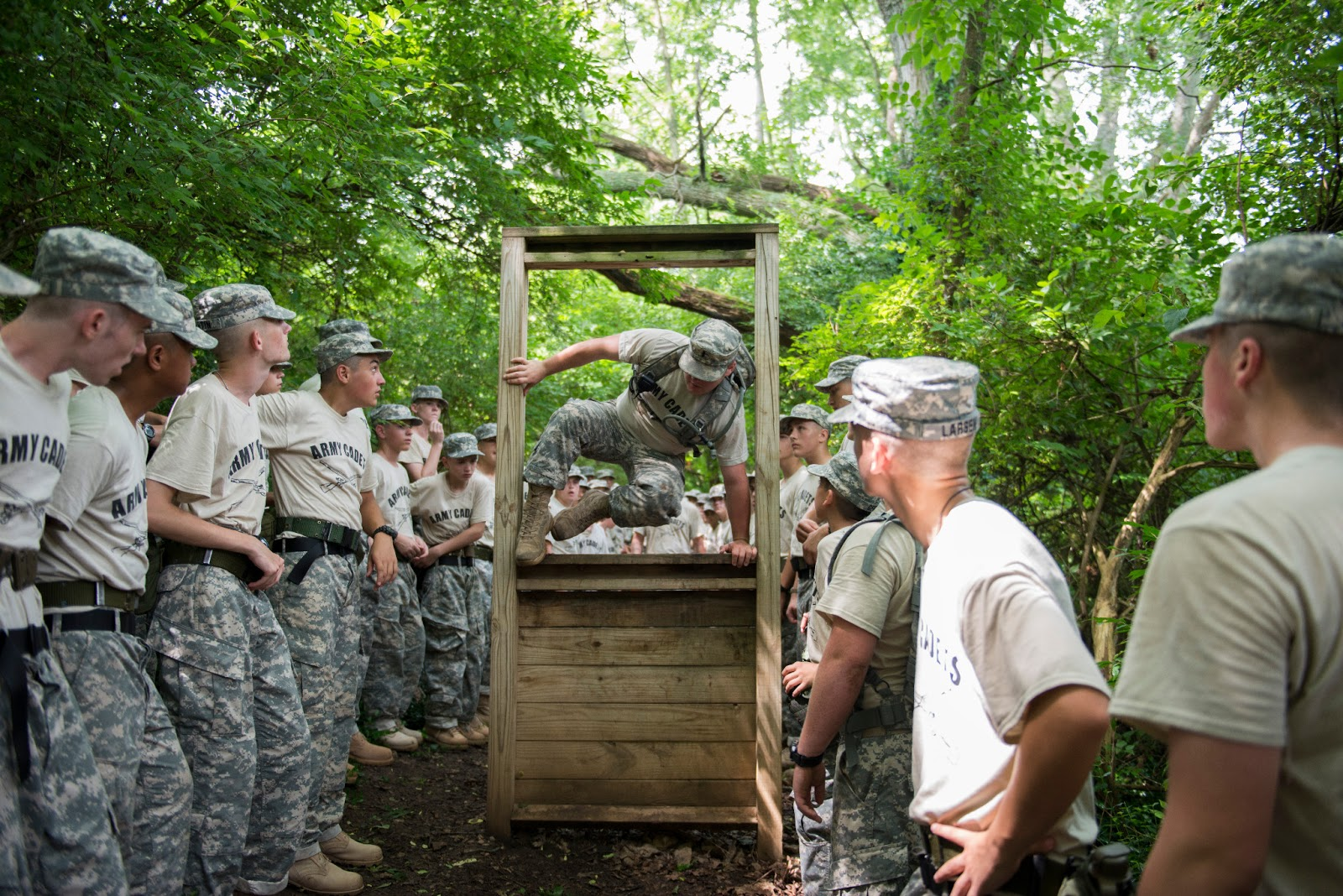 U S Army Cadet Corps Obstacle Course