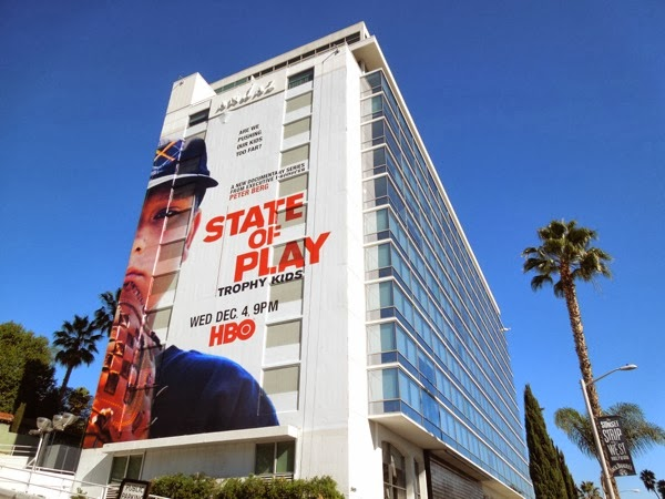 Giant State of Play docu series billboard