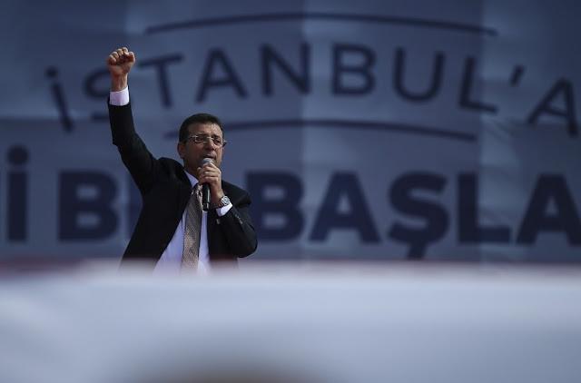 Κωνσταντινούπολη: Ο Εκρέμ Ιμάμογλου υπόσχεται δημοκρατική «επανάσταση»