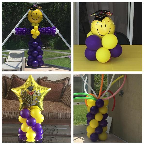 101 fiestas decora tu graduaci n con arreglos de globos - Decora con globos ...