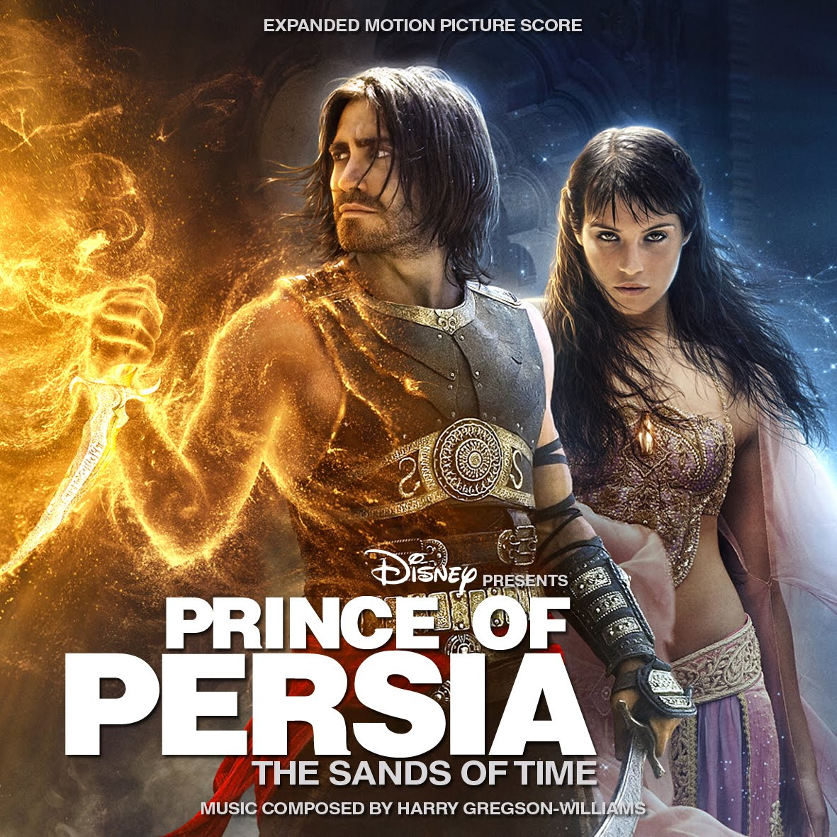 Soundtrack List Covers Prince Of Persia The Sands Of Times Expanded Harry Gregson Williams