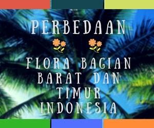 400+ Gambar Flora Indonesia Bagian Barat Dan Timur HD Terbaru