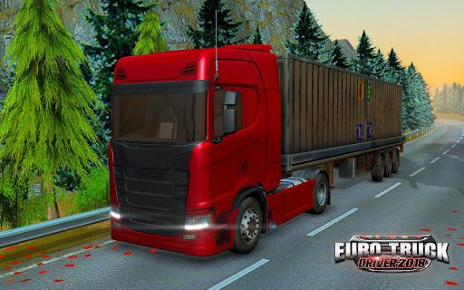 تحميل لعبة Euro Truck Driver 2018 v1.4.0 مهكرة وكاملة للاندرويد أموال لا تنتهي اخر اصدار