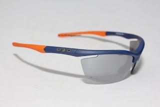 e7d1f84df9f New in box Briko Trident sunglasses. Blue frame Orange tips with Nastek  Silver + Thrama Plus 80 lense