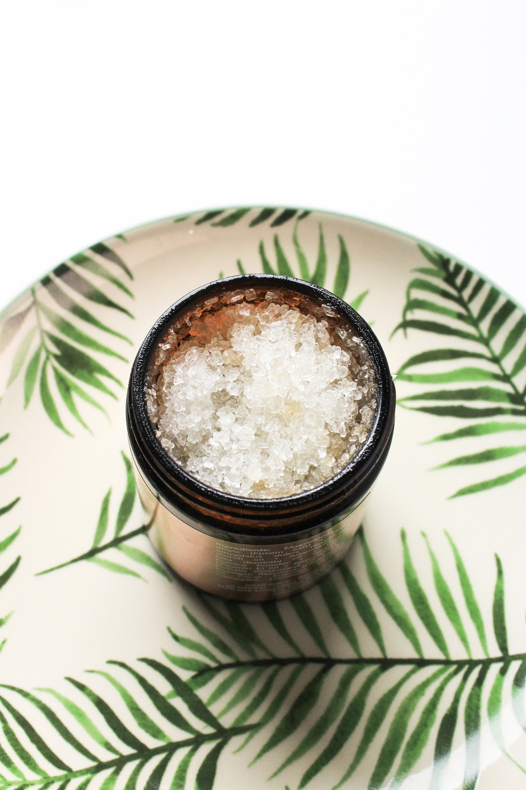 Isla Apothecary Lemongrass + Rosemary Renew Foot Scrub LoveLula